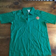 Vintage 1980's Schmidt Beer Collared Polo Shirt St Patricks Day Green  T-Shirt