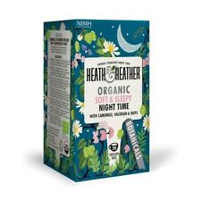 💚 Heath & Heather Organic Nuit Temps Botanique Infusion 20 bags