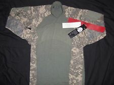 MASSIF GEAR SHIRT COMBAT M MEDIUM NEW TAGS ACU DIGITAL CAMO MADE USA MILITARY b