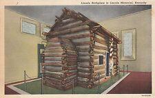 "*Kentucky Postcard-""Lincoln Birthplace"" /Lincoln Memorial, Ky./ (U1-KY23)"