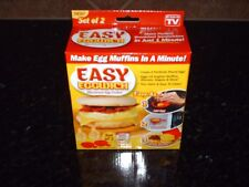 Set of 2 Easy Eggwich Microwave Egg Cookers