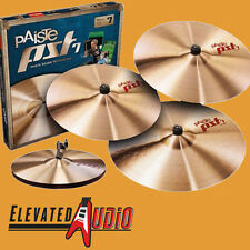 "Paiste PST-7 Universal / Medium Cymbal Set w/ FREE 16"" Crash & 2 Year Warranty!"