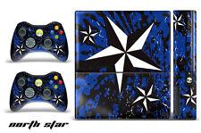Skin Decal Wrap for Xbox 360 E Gaming Console & Controller Sticker Design NSTAR