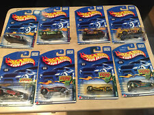 Hot Wheels 2 Sets Of 4, Firebird Funny Car & Extreme Sports Series '00/'01