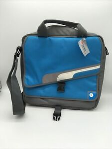 Nintendo Wii Shoulder Bag Carrying Case by NYKO Blue Grey
