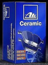 Brake pads, Front, AUDI TT S3 1.8 2.0 TFSI 3.2 V6 + VW Golf R 2.0 GTi ATE cerami