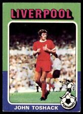 Topps Foootball 1975 Red/Grey (B1) John Toshack Liverpool No. 169