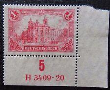 Deutsches Reich Mi A 113 (*) ohne Gummi , HAN
