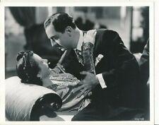 HEDY LAMARR WILLIAM POWELL Original CANDID Vintage 1942 CROSSROADS MGM DBW Photo