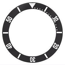 Bezel Insert For Omega Seamaster Ploprof Watch 120 Black