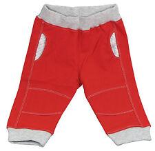 Pantalon type jogging pour bébé garçon, rouge, taille 12 mois