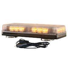 Buyers 8891090 LED Magnetic Amber Strobe Light Bar
