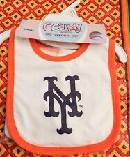 NY Mets Baby Bibb & Booties Official Mets  Infant 12 months Unisex NEW