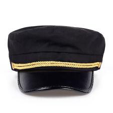 Breton Cap Unisex Beret Fisherman Style Fiddler Mariner Sailor Greek Vintage Hat