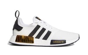 adidas NMD_R1 White Black Gold (EG5662) Sneakers Mens NEW ORIGINAL PACKAGING