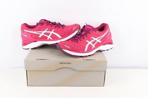 New Asics GT 3000 5 Gym Jogging Running Shoes Sneakers Pink White Womens Size 7