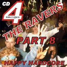 RAVE  ACID HOUSE  CD  OLD SKOOL  4 the RAVER #8   JUNGLE  HARDCORE