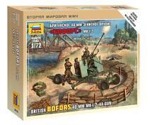 Zvezda  1:72  British Bofors 40mm Aa-Gun  ZVE6170