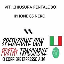 2 VITI PENTALOBO CHIUSURA IPHONE 6S NERO