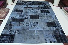 moderne Patchwork délavé look antique PERSAN TAPIS tapis d'Orient 6,00 x 4,06