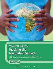Primary Curriculum: Teaching the Foundation Subjects, Acceptable, , Book