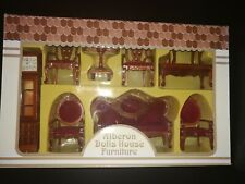 Miniaturas 1:12 - set muebles - salon