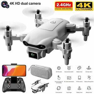 2021 RC Drone 4k HD Wide Angle Camera WIFI FPV Drone Dual Camera Quadcopter New