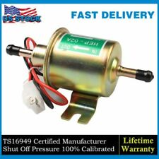 Universal Gas Diesel Inline Low Pressure Electric Fuel Pump 12V 4-7 PSI US STOCK