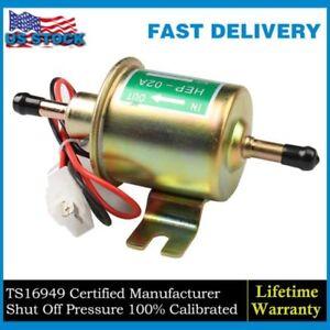 Universal Gas Diesel Inline Low Pressure Electric Fuel Pump 12V 4-7 PSI US STOCK