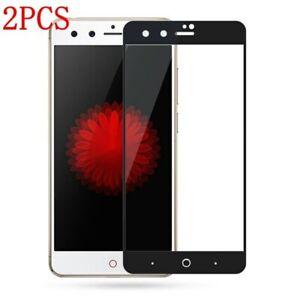 2PCS ZTE Nubia Z11 Mini S Z17 mini Full Cover Tempered Glass Screen Protector