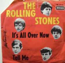 """7"""" RARE! ROLLING STONES It´s All Over Now  5 Head Cover"""