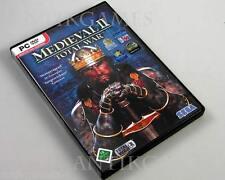 Total War: medieval II PC en DVD-Box con sólo manual tirada