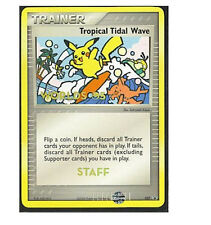 Pokemon 2005 Tropical Tidal Wave 027 STAFF Promo Rare!