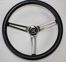 "1967-68 Buick Skylark GS Grant Black Steering Wheel 15"""