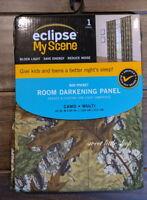 Eclipse My Scene Camo Camouflage Print Room Darkening Curtain Panel 40 x 84