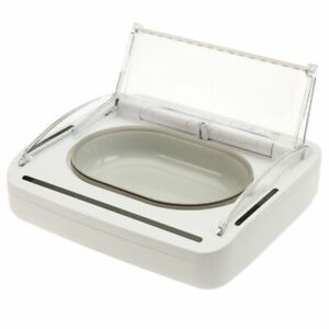 SureFeed Sealed Pet Bowl - For Dogs & Cats- Motion-Activated Lid Keeps Food Fres