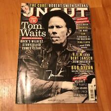 tom waits signed uncut magazine