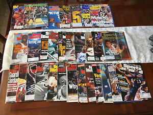 Michael Jordan Sports Illustrated Magazine Lot of 30 1984, 87, 89 Early Issues