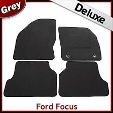 Ford Focus Mk2 2004-2011 Tailored LUXURY 1300g Carpet Car Floor Mats GREY