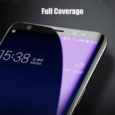 6D Tempered Film Glass For Samsung Galaxy S8 S9 Anti Blue Ray Screen Saver Cover