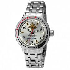 Authentic Russian Vostok Auto Amphibian (#420392) Military Diver Wrist Watch