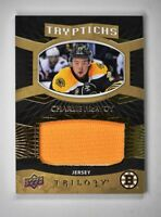 2017-18 Upper Deck UD Trilogy Tryptichs Jersey #RC2-3 Charlie McAvoy /149