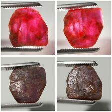 9,80 Carats NATURAL ROUGH RUBY UNHETATED RUBINO NATURALE RUBÍ RUBIN RUBIS