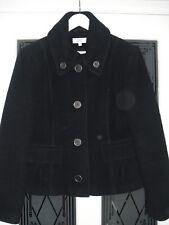Ladies MARKS & SPENCER black wool blend short coat size 14