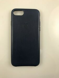 Original Genuine OEM Apple Leather Case for iPhone 7 8 SE 2nd Gen Dark Aubergine
