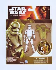 "Hasbro SW The Force Awakens 3.75"" Fig. Forest Armor First Order Stormtrooper"