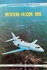 1985 DASSAULT AVION MYSTERE FALCON 900 TECHNICAL SPECIFICATION AVIATION