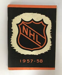 NHL 1957-58 National Hockey League  Guide,(344 pages).Unopened.Vg