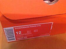 Nike Men's Soccer Track Cleats Spikes US Size 12 Hypervenom Phade II FG New In B