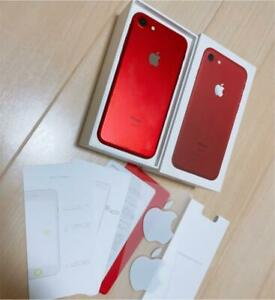 Apple Iphone7 Substance Sim-Free 128Gb Red With Box